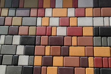 Варианты укладки плитки Старый город