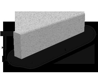 Бортовой камень БР 100.20.8